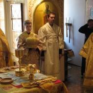 Диаконская хиротония насельника монастыря