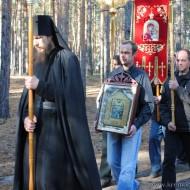 Престольный праздник в честь собора преподобных Оптинских старцев24.10.2010