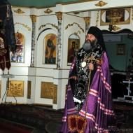 Преосвященнейший Агапит, епископ Северодонецкий и Старобельский побывал в Свято-Сергиевском Кременском монастыре