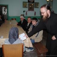 Пасхальные беседы с членами Районного общества инвалидов