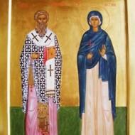Священномученик Киприан, святая мученица Иустина