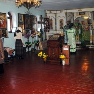 Престольный праздник в честь прп. Оптинских старцев 24.10.2014 года