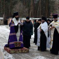 погребение архимандрита Афанасия