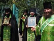 Встреча икон преп. Агапита Печерского и влкмч. Варвары | фото 1