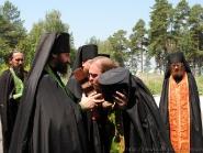 Встреча икон преп. Агапита Печерского и влкмч. Варвары | фото 2