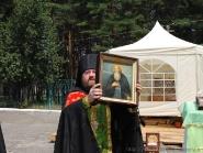 Встреча икон преп. Агапита Печерского и влкмч. Варвары | фото 6