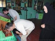 Встреча икон преп. Агапита Печерского и влкмч. Варвары | фото 9