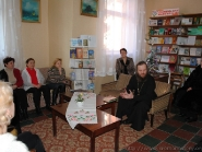 Встреча в библиотеке 5.01.2011. Духовные беседы | фото 3