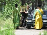 Встреча чудотворного образа и частицы мощей святой блаженной Матроны Московской | фото 1