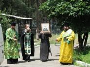 Встреча чудотворного образа и частицы мощей святой блаженной Матроны Московской | фото 2