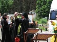 Встреча чудотворного образа и частицы мощей святой блаженной Матроны Московской | фото 3