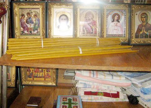 Монастырские свечи