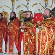 Праздничное Богослужение в честь влкмч Пантелеймона