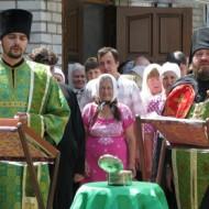 Встреча иконы и частицы мощей блаженной Матроны Московской