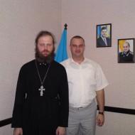 Встреча милиции и священства