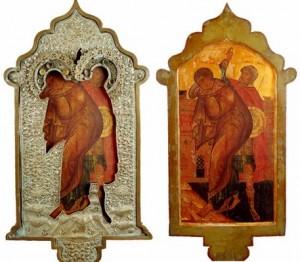 Апостол Иоанн Богослов и Лонгин сотник