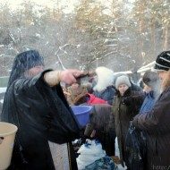 Праздничное Богослужение на Крещение Господне, 2011