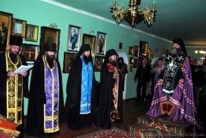 ЧЧтение Канона Андрея Критского во главе с Епископом Агапитом