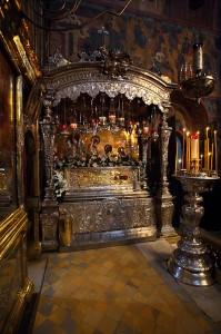 Одна из величайших святынь Руси - мощи преподобного Сергия Радонежского