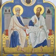 Светильники великия церкве - апостолы Петр и Павел
