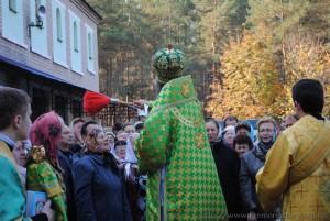 Престольный праздник нашего монастыря, 8.10.2011