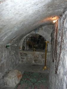 Монастырь Великая Панагия. Пещерка преподобной Мелании Римляныни
