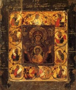Чудотворная Курская-Коренная икона Знамения Божией Матери