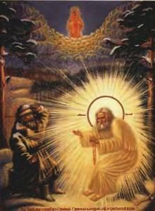 Преподобный Серафим и Николай Мотовилов