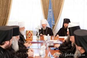 Заседание Священного Синода УПЦ