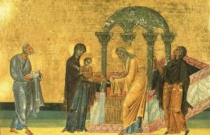 Духовный смысл праздника Сретение Господне