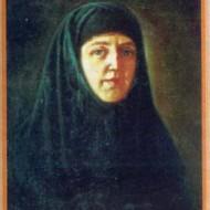 Преподобная Елена Дивеевская