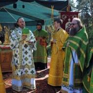 Праздничное Богослужение во главе с владыкой Никодимом