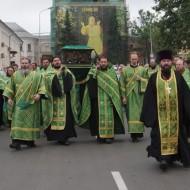 Святые мощи преподобного Серафима возвращаются в Дивеево