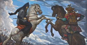 Сражение Пересвета и Челубея