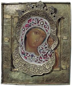 Богоматерь Казанская. XVII век