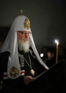 Чтение канона прп. Андрея Критского Святейшим Патриархом Московским и всея Руси Кириллом
