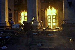 В Одессе в результате устроенного радикалами из «Правого сектора» пожара погибли 43 человека, пострадали более 170.