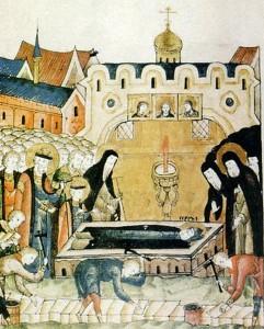 Обретение честных мощей Преподобного Сергия игумена Радонежского