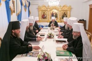 заседания Священного Синода Украинской Православной Церкви