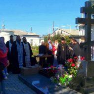 Старобельск. Заупокойное богослужение