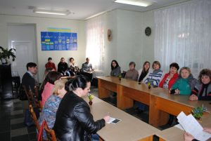 Тематическая встреча к 10-летию Северодонецкой епархии