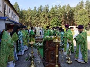 литургия под открытым небом