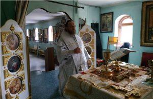 митрополит Никодим в монастыре 30 мая 2020 года